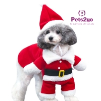 Buy cheap Luxury Pet Christmas Clothes Cat Pet from wholesalers