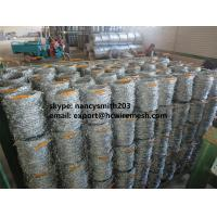 Buy cheap Hot dipped galvanized barbed wire,515m one roll,hot selling in south africa from wholesalers