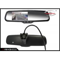 400cd / M2 Brightness Digital Rear View Mirror With 4 - Screw Mounting Bracket