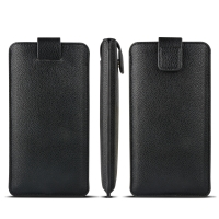 Buy cheap Pull Tab Soft Flexible OEM Genuine Leather Cases from wholesalers