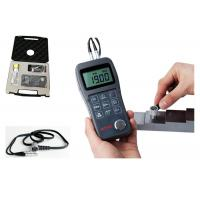 Buy cheap Handheld Ultrasonic Steel Thickness Gauge Large LCD For Easy Reading from wholesalers