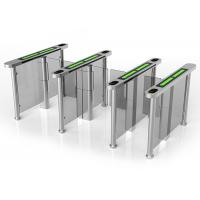 Buy cheap Card Access Speed Gates With Servo Driver / Half Height Turnstile Entrance Gates from wholesalers