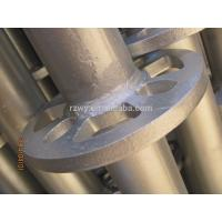 Buy cheap Ringlock verticals 48.3*3.2mm Ringlock Scaffolding System HDG Surface from wholesalers