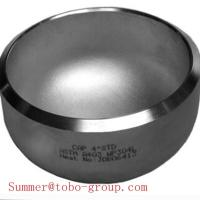 Buy cheap butt welding fitting Sch 40 Stainless Steel vent pipe fitting caps from wholesalers