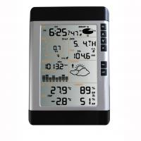 Buy cheap LED Back Light Digital Thermometers DH-2080 with Storm Warning Alarm, Time Display product