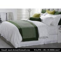 Buy cheap High Quality Linens 5 Star Hotel Bedding Sets 100 Bed Sheet Sets For Motel / Hospital from wholesalers