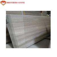 Buy cheap Guizhou White Wood Vein Marble White Serpegiante Marble Price from wholesalers