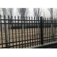 Buy cheap Galvanized Powder Coated Steel Tubular Fence from wholesalers