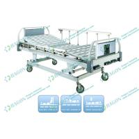 Buy cheap Comfortable 3 Function Manual Hospital Bed With Silent Castors and Bedside cabinet from wholesalers