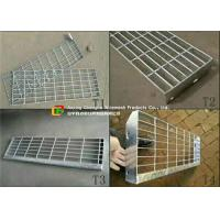Buy cheap High Strength Steel Bar Grating TreadsFine Appearance For Chemical Factory from wholesalers