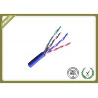 Buy cheap Pure Copper Cat5e UTP Cable For Network ,  24awg Unshielded Twisted Pair Cable from wholesalers
