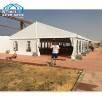 Buy cheap Anti - UV White Outdoor Marquee Tent PVC Windows With Long Lifespan from wholesalers