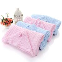 Buy cheap Multifunctional Muslin Hooded Towel , Infant Hooded Towel Super Absorbent from wholesalers
