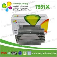 Buy cheap Black Q7551X Toner Cartridge compatible with  HP LaserJet - P3005 from wholesalers