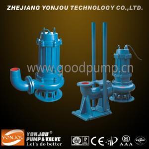 Buy cheap WQ/QW Submersible Sewage Pump, Non-clogging Vertical Pumps product