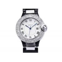 Buy cheap Accurate Diamond Womens Wrist Watches Bangle , Quartz Japan Movt from wholesalers