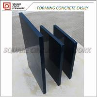 Buy cheap Reusable 100  times premium concrete forming PP plastic coated plywood for formwork concrete from wholesalers
