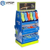 Buy cheap 100% Recyclable Cardboard Product Displays Easy Assembly For Hooking Socks from wholesalers