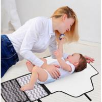 Buy cheap New design Baby's diaper bag foldable changing mat nappy bag children's playmat from wholesalers