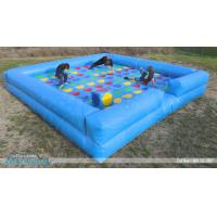 Buy cheap MEGA TWISTER,giant inflatable game board,inflatable bounce from wholesalers