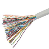 Buy cheap Telecommunication Cables 50pairs Copper Cat3 Multipair UTP Cable Projects Ethernet Cabling from wholesalers