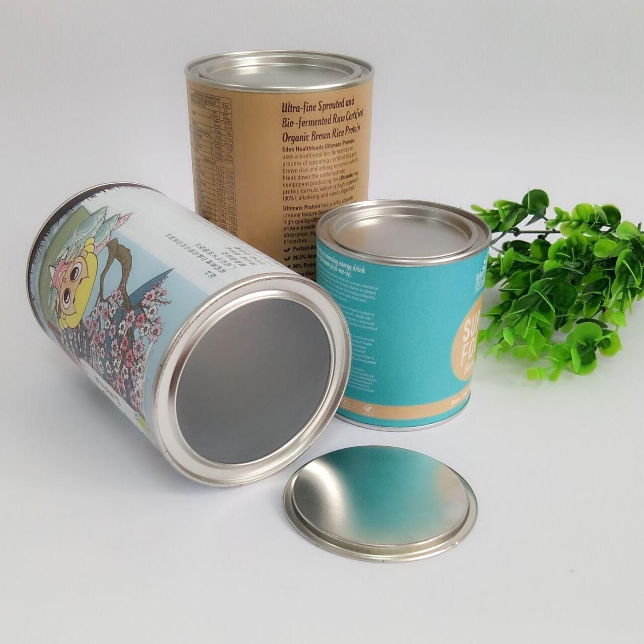 Buy cheap Hot Stamping Paper Composite Can Packaging For Chocolate Powder / Coffee Powder / Milk Powder product