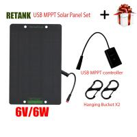 Buy cheap usb MPPT monocrystalline silicoon 6V6W solar panel charger for smartphone and home lighting and outdoor camping from wholesalers