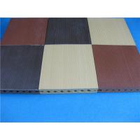 Buy cheap ASA Wood Plastic Composite Foam Decking Tiles for Backyard / Garden from wholesalers