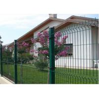 Buy cheap PVC Coated Wire Mesh Fence with 4 mm Wire Diameter 50mm × 200mm Mesh from wholesalers