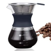 Buy cheap Custom Portable Pour Over Coffee Maker With Permanent Stainless Steel Filter Set from wholesalers