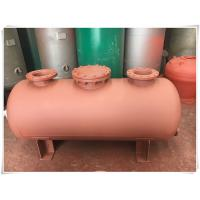 Buy cheap Carbon Steel Horizontal Air Compressor Receiver Tank Of Screw Compressor Medium Pressure from wholesalers