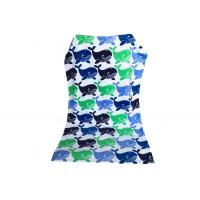 Buy cheap Pretty Fish Sunbed Cotton Beach Blanket / Lounge Chair Beach Towels Bright Color from wholesalers
