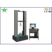 Buy cheap Universal Steel Wire Tensile Testing Machine With Servo Motor 0.5 class from wholesalers