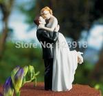 Buy cheap True Romance- Custom Couple Figurine love wedding cake topper from wholesalers
