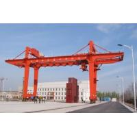 Buy cheap Movable Double Girder Gantry Crane 50Ton Container Cabin Pendant Remote Control from wholesalers
