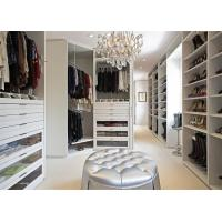 Buy cheap Wooden Furniture Walk In Closet Wardrobe / Organizer With Functional Accessories from wholesalers