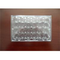 Buy cheap Professional Plastic Quail Egg Trays , Clear Plastic Egg Cartons With Holes from wholesalers