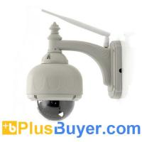 Buy cheap Phantom - 1/5 Inch CMOS Outdoor Dome IP Camera (PTZ, Wi-Fi, 3x Optical Zoom) from wholesalers