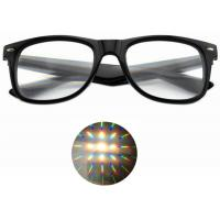 Buy cheap Ultimate Diffraction Glasses - 3D Prism Effect EDM Rainbow 3D Style Rave Glasses from wholesalers
