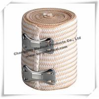 Buy cheap Sterilized Soft Medical Bandage / High Stretch Compression Bandage With Clips from wholesalers