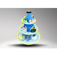Buy cheap Environmental Protection cupcake cake stand / POP Cake Stand from wholesalers