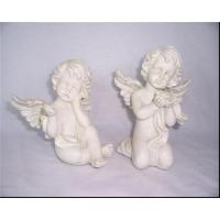 Buy cheap Pulling shape resin angel for decoration from wholesalers