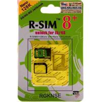 Buy cheap R-SIM 8+ r-sim 8+ rsim8+ RSIM 8+ Dual sim unlock sim card iphone 5 iPhone 4s iOS 6 To iOS 7 iphone4s 5G DHL free from wholesalers