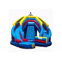 Buy cheap Versatile Kids Inflatable Jumping Castle , Inflatable Toy Castle Combo Bounce House from wholesalers