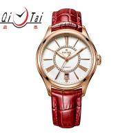 Buy cheap Fashion Ladies Mechnical Watch water proof Full Automatic mechanical Geuine leather starp from wholesalers