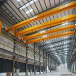 Buy cheap 20T bridge overhead crane single beam travelling overhead crane from wholesalers