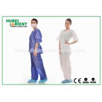 Buy cheap Comfortable Disposable Surgical Gowns Reduce Skin Irritation Single Use from wholesalers
