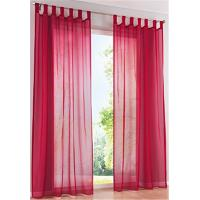 Buy cheap Drape Panel Custom Window Curtains Red Printing With 78.7x39.4 Inch Size from wholesalers