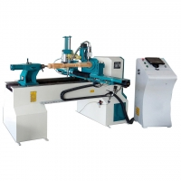 Buy cheap 4kw Double Cutter Woodworking Lathe Machine 3500rpm Mdf Cnc Cutting Machine from wholesalers