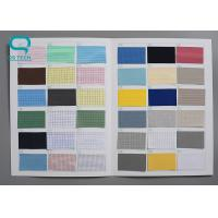 Buy cheap Plain Style Anti Static Polyester Fabric , Electrostatic Dissipative Materials OEM from wholesalers